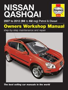 Nissan Qashqai 2007-13 Petrol & Diesel Repair Manual