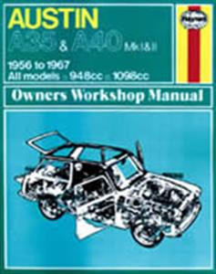 austin a40 somerset 1954 shop manual