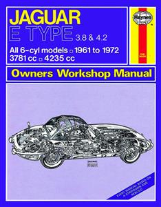 Jaguar E Type 1961-72 Repair Manual 3.8 & 4.2