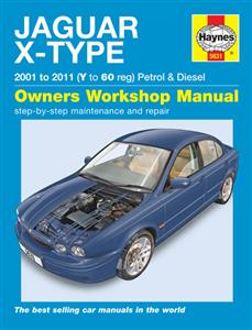 Jaguar X-Type 2001-10 Petrol & Diesel Repair Manual