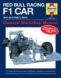 Red Bull Racing Formula 1 Car 2010-14 Owner's Workshop Manual 2nd Ed - RB6 RB7 RB8 RB9 & RB10