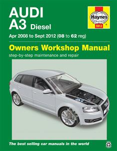 Audi A3 2008-12 Diesel Repair Manual