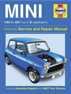 Mini 1969-2001 Repair Manual