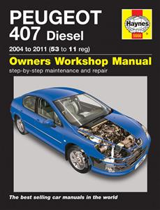 Peugeot 407 2004-11 Diesel Repair Manual