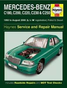 Mercedes Benz C Class 1993-2000 Repair Manual W202 C180 C200 C220 C230 C250 Petrol & Diesel