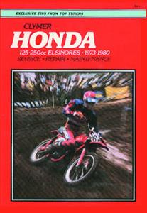 Honda 125-250cc Elsinores 1973-1980 Repair Manual
