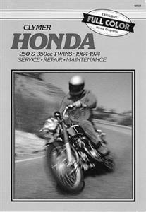 Honda 250 & 350cc Twins 1964-1974 Repair Manual