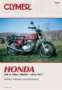 Honda 250 & 360cc Twins 1974-1977 Repair Manual