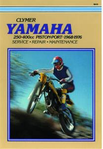 Yamaha 250-400cc Piston Port 1968-1976 Repair Manual