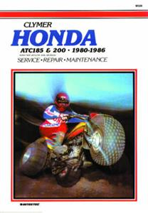 Honda ATC 185 200 1980-86 Repair Manual