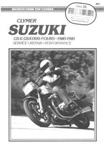 Suzuki GS1100 Fours Chain Drive 1980-1981 Repair Manual