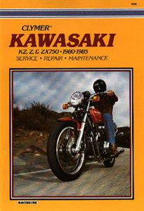 Kawasaki KZ Z & ZX750 1980-1985 Repair Manual
