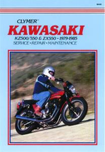 Kawasaki KZ500/550 & ZX550 1979-1985 Repair Manual