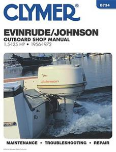 Evinrude/Johnson 1.5-125 HP Outboards 1956-72 Repair Manual