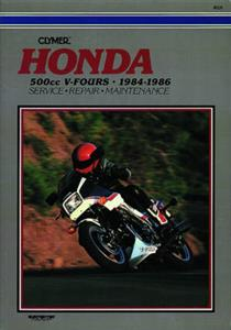 Honda 500cc V-Fours 1984-1986 Repair Manual