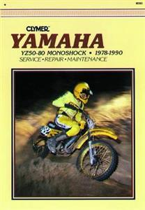 Yamaha YZ50 60 80 Monoshock 1978-1990 Repair Manual