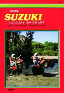 Suzuki ALT/LT125 185 1983-1987 Repair Manual