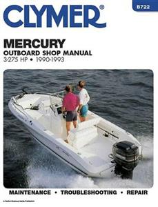 Mercury 3-275 HP Outboards 1990-1993 Repair Manual