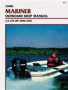 Mariner 2.5-275 HP Outboards 1990-1993 Repair Manual