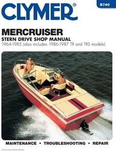 MercCruiser Stern Drives 1964-1985 And With TR & TRS 1986-87 Repair Manual