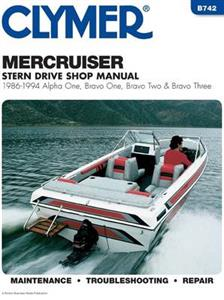 MercCruiser Stern Drives 1986-1994 Repair Manual - Alpha One, Bravo One, Bravo Two & Bravo Three
