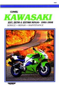 Kawasaki Ninja ZX-7 ZX-7R & ZX-7RR 1991-1998 Repair Manual
