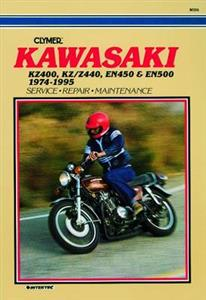 Kawasaki KZ400, KZ/Z440, EN450 & EN500 Repair Manual