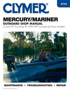 Mercury/Mariner 2.5-60 HP Outboards 1994-1997 Repair Manual
