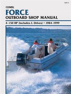 Force 4-150 HP Outboards 1984-1999 Repair Manual