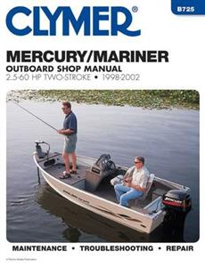 Mercury/Mariner 2.5-60 HP Outboards 1998-2001 Repair Manuals