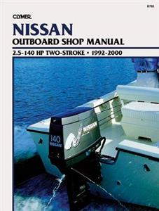 Nissan 2.5-140 HP Two-Stroke Outboards 1992-2000 Repair Manual