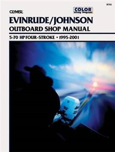 Evinrude/Johnson 5-70 HP Four-Stroke Outboards 1995-2001 Repair Manual