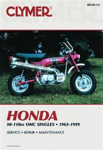 Honda 50 110 OHC Singles 1965-1999 Repair Manual