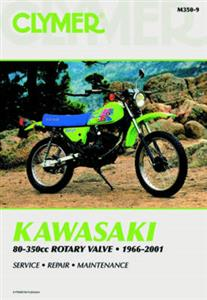 Kawasaki 80-350cc Rotary Valve 1966-2001 Repair Manual