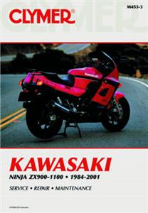 Kawasaki Ninja ZX900 ZX1000 & ZX1100 1984-2001 Repair Manual