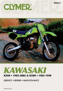 Kawasaki KX60 1983-2002 & KX80 1983-1990 Repair Manual