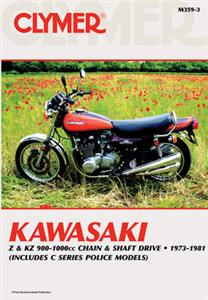 Kawasaki 900-1000 Fours 1973-1981 Repair Manual