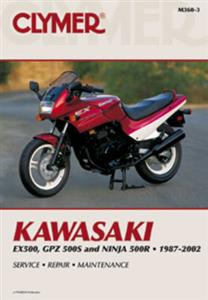 Kawasaki EX500 GPZ 500S & Ninja 500R 1987-2002 Repair Manual