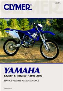 Yamaha YZ250F & WR250F 2001-03 Repair Manual