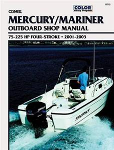 Mercury/Mariner 75-225 HP Four-Stroke Outboards 2001-2003 Repair Manual