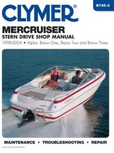 MerCruiser Stern Drives 1998-2004 Repair Manual - Alpha One, Bravo One, Bravo Two & Bravo Three