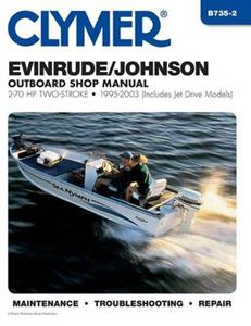 Evinrude/Johnson 2-70HP 2 Stroke Outboards 1995-2007 Manual