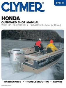 Honda Outboard Shop Manual 2-130 HP Four-Stroke 76-05