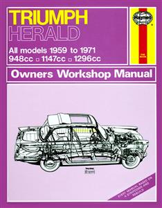 Triumph Herald 1959-71 Repair Manual