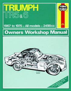 Triumph TR5 & TR6 1967-75 Repair Manual