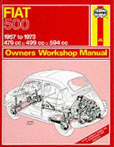 Fiat 500 1957-1973 Bambina Repair Manual