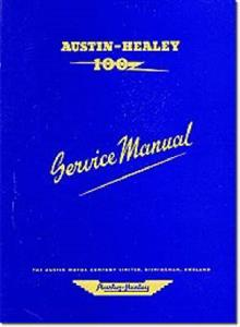 Austin Healey 100 BN1 & BN2 Factory Workshop Manual