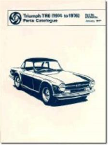 Triumph TR6 1974-76 Spare Parts Catalogue