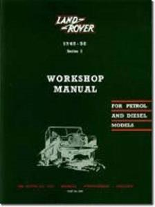 Land Rover Series 1 1948-58 Factory Workshop Manual