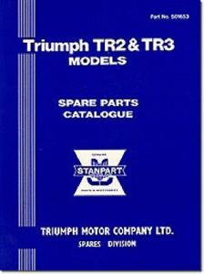 Triumph TR2 & TR3 Spare Parts Catalogue